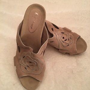 Earthies Tropez Nude Sandal